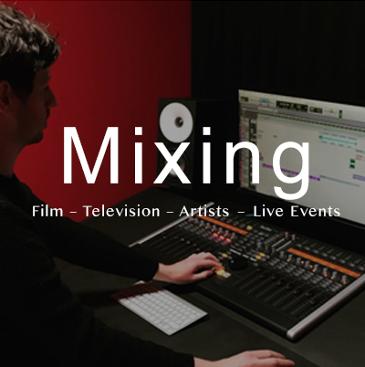 Nick Clegg Sound - Mixing Services