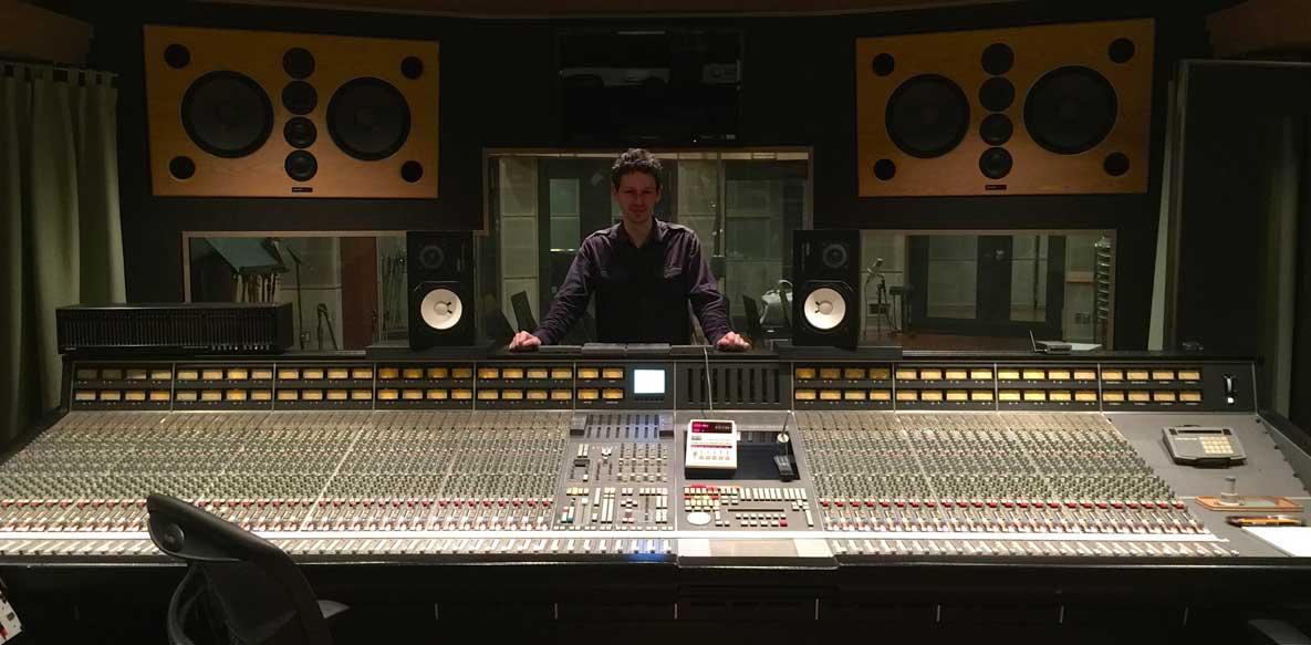 Nick Clegg in studio 1 at Onkio Haus